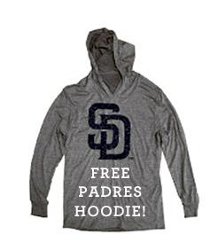 Free Padres Hoodie