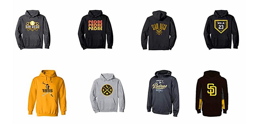San Diego Padres Sweatshirts