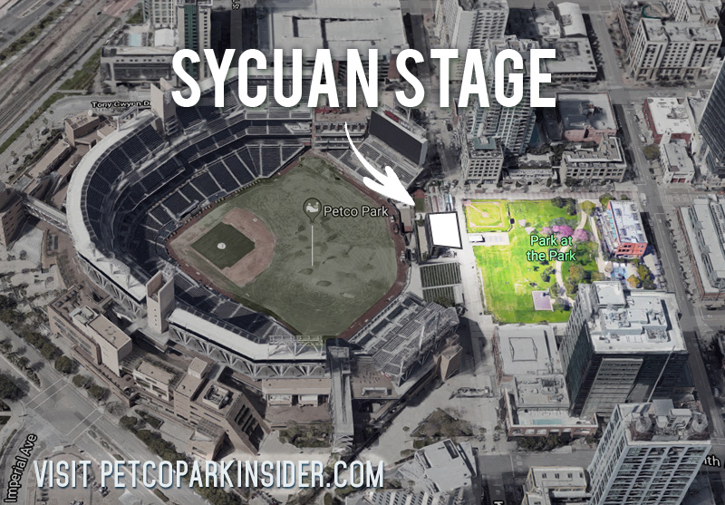 Sycuan Stage inside Petco Park